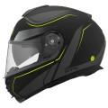 Casca moto flip-up CMS GTC Ranger Yellow Reflex