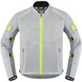 Geaca moto ICON Mesh AF light grey