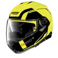 Casca moto flip-up Nolan N100-5 Consistency N Com Led Yellow