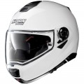 Casca moto flip-up Nolan N100-5 Special N Com pure white