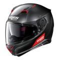Casca moto integrala Nolan N87 Emblema N Com negru mat