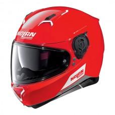 Casca moto integrala Nolan N87 Emblema N Com Corsa red