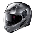 Casca moto integrala Nolan N87 Emblema N Com scratched chrome