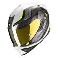 Casca integrala Scorpion Exo 1400 Air Attune negru alb galben