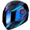Casca moto integrala Scorpion Exo 490 Nova negru/albastru