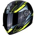 Casca moto integrala Scorpion Exo 490 Nova negru/galben fluo