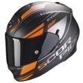 Casca moto integrala Scorpion Exo 510 Air FERRUM negru mat / portocaliu