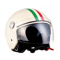 Casca open face Arrow AV-63 Italy Creme