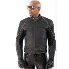 Motorcycle leather jacket Tschul Fighter